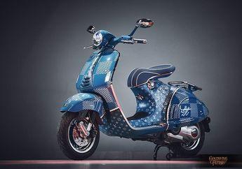 Bikin Melongo, Vespa 946 Louis Vuitton Dijual Rp 246 Jutaan, Kok Bisa?