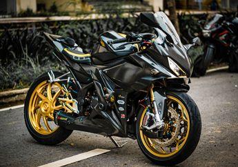 Modifikasi Motor Honda CBR150R, Makin Agresif, Comot Kaki-Kaki Moge!