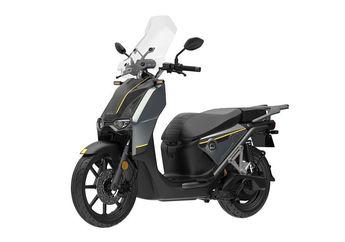Motor Listrik Super Soco CPx, Desainnya Ala Skuter Adventure Nih Bro!