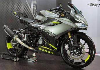 Modifikasi Motor Honda CBR150R 2021 Makin Kekar Pakai Pelek CBR250RR
