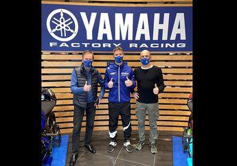 Penampakan Pengganti Valentino Rossi Di Markas Tim Yamaha Pabrikan