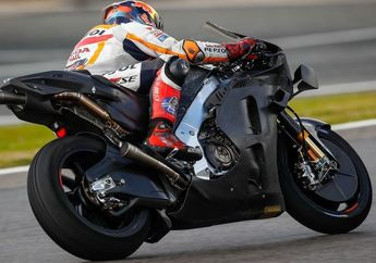 Terciduk, Motor MotoGP Honda RC213V 2021 Nyontek Rangka Suzuki GSX-RR