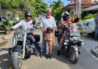 Lilik dan Balda Tuntaskan Misi Ride to East Bersama Yamaha All New NMAX 155 Connected