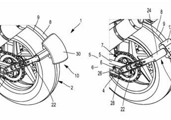 Michelin Ungkap Konsep Sepatbor Belakang Canggih Pakai Motor Listrik!