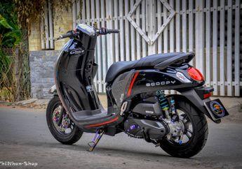 Modifikasi Motor All New Honda Scoopy Ini Makin Sporty Plus Mewah!