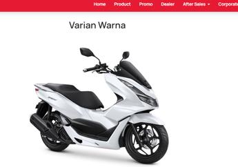 Bocor Motor Honda PCX 160 2021 di Website AHM, Ada 2 Pilihan Warna