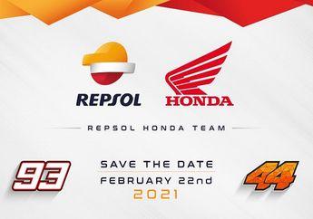 Siap-siap, Launching Tim Repsol Honda di MotoGP 2021 Sebentar Lagi Bro