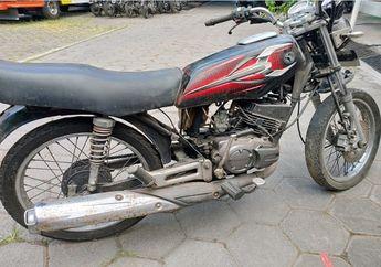 Wuih Yamaha RX-King Dilelang Murah Meriah, STNK dan BKPB Komplit Bro