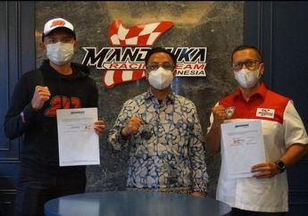 Dimas Ekky Balap CEV Moto2 Bersama Mandalika Racing Team Indonesia