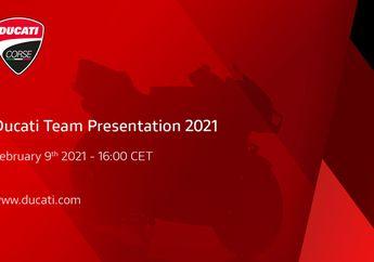 Giliran Ducati Team Gelar Presentasi Tim MotoGP 2021, Ini Daftarnya
