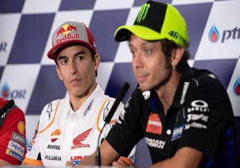Valentino Rossi Blak-blakan Ogah Maafkan Marc Marquez, Ada Apa Nih?