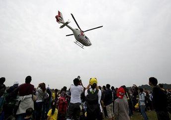Heboh Helikopter di Sirkuit Mandalika , Begini Kata Komisi Safety FIM