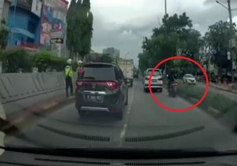 Viral Video Pemotor Yamaha NMAX Lolos Razia, Pemilik Dashcam Disindir Netizen