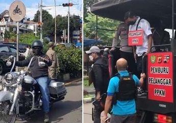 Pengendara Moge yang Lolos Razia di Bogor Ditangkap, Ini Sanksinya
