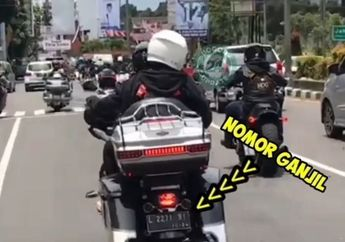 Motor Harley-Davidson yang Sempat Lolos Ganjil Genap Disorot, Pajaknya Nunggak?