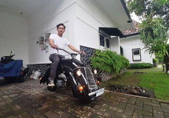 Keren, Pria Ini Sulap Suzuki Smash Jadi Motor Mini Berbodi Unik!
