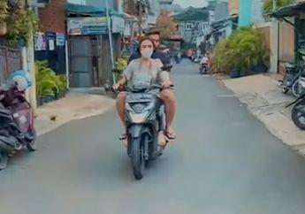 Heboh Artis Cantik Amanda Manopo Naik Motor Matic, Sempat Dikagumi Ariel Noah yang Punya Motor Rp 1 Miliar