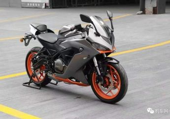 Kuy Motor Baru Kloningan Ninja 250 Asal Cina Siap Meluncur Nih!