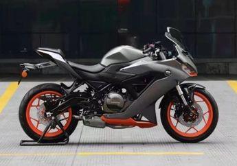 Wuih Kloningan Ninja 250 Bakal Dirilis, Mesin 350cc Fitur Komplit