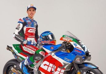 Wuih, Begini Penampakan Livery Baru Alex Marquez Buat MotoGP 2021