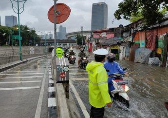 26 Titik Banjir Jakarta dan Sekitarnya Tersebar, Motor Bisa Kebanjiran