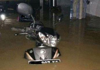 Motor Terendam Banjir, Cepet Pakai Oli Bekas Biar Mesin Tetap Aman