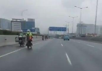 Jakarta Banjir, Pemotor Diperbolehkan Masuk Tol? Begini Kata Polisi
