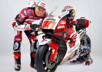 Pamer Livery Baru, Takaaki Nakagami Senang Dapat Honda RC213V Pabrikan