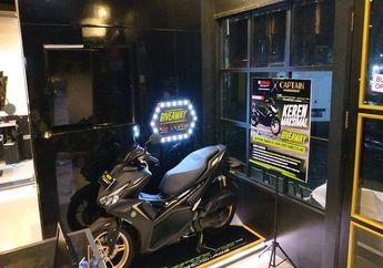 Wow Yamaha Aerox Termahal Bisa Dibawa Pulang Gratis, Syaratnya Cukur Rambut