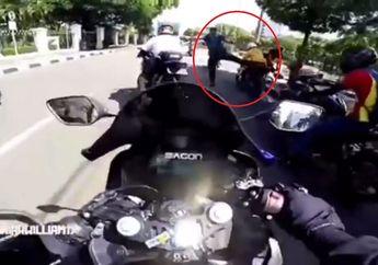 Insiden Sunmori Ditendang Paspampres, Bikers Minta Maaf Besok
