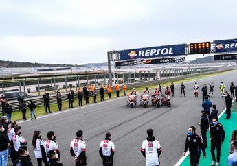 Sirkuit MotoGP Valencia Gelar Heningkan Cipta Kenang Fausto Gresini