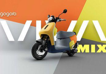 Gogoro Viva Mix, Motor Skuter Listrik Warna-Warni Asal Taiwan