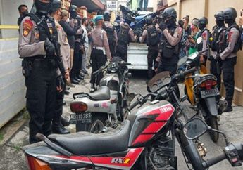 Solo Geger, Motor Suzuki RGR Sampai Yamaha RX-Z Diangkut Polisi, Ada Apa Nih?