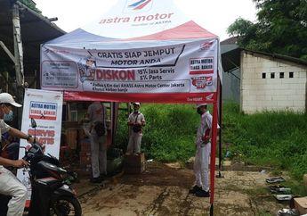 Peduli Banjir Jakarta, Astra Motor Gelar Servis Gratis Motor Honda