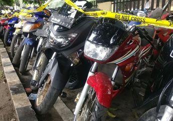 Pecinta 2-Tak Dijamin Ngiler, Suzuki RGR dan Yamaha Touch Sitaan Polisi Kondisinya Mulus!