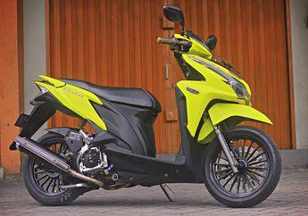 Modifikasi Honda Vario 125 Lama, Mesin Kencang Buat Turing Luar Kota