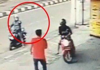 Semarang Geger, Mau Rebut Honda Scoopy dari Maling Motor, Karyawan Minimarket Ditembak