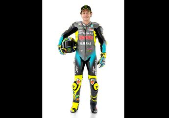 Tim Petronas Resmi Launching, Begini Tampang Baru Valentino Rossi