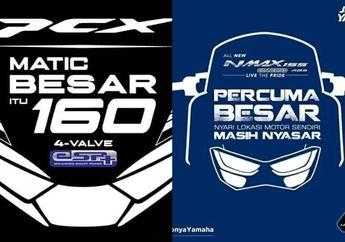 Iklan Matic Besar Honda PCX 160 Dilawan Yamaha NMAX, Sindir Fitur Ini