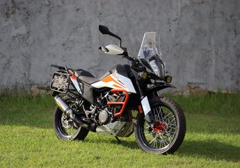 Modifikasi KTM 390 Adventure Bergaya Ala Motor Rally, Siap Touring!