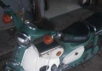 Motor Antik Honda C70 Dijual Di Medsos, Penjual Dijemput Polisi