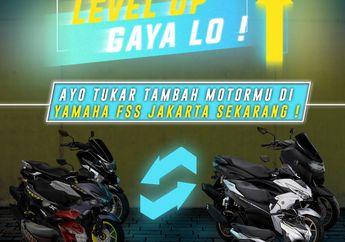 Asyik, Beli Motor Baru Yamaha Bisa Pakai Program Tukar Tambah