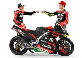 Resmi, Tim Aprilia MotoGP Launching Motor dan Line Up Pembalap Barunya