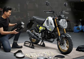 Motor Baru 2021 Langka dari Honda Buruan Bayar Dijual di Indonesia