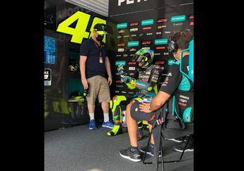 Valentino Rossi Di Posisi 'Tepat' Bareng Petronas Yamaha SRT Musim Ini