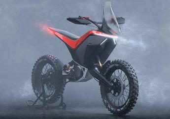 Wuih, Konsep Motor Listrik Adventure KTM, Pakai Sistem Baterai Swap