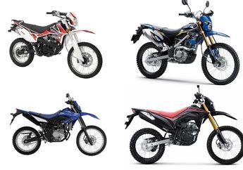 Adu Harga Motor Trail Baru 150 cc Maret 2021, Kawasaki KLX 150 Termurah?