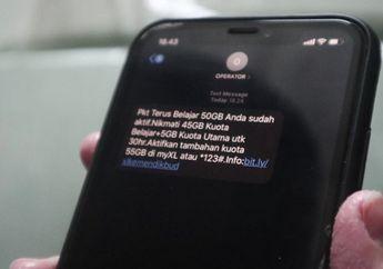 Siap-siap Cek HP, Bantuan Kuota Internet Gratis 50 GB Dibagikan Lagi