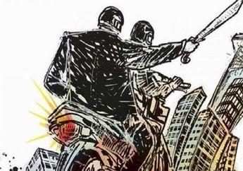 Asyik Pamer Senjata, Anggota Geng Motor Diciduk Polisi, Ada yang Kabur ke Sini