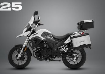 Motor Touring Mirip Kawasaki Versys 250 Bermesin 125cc Siap Meluncur!